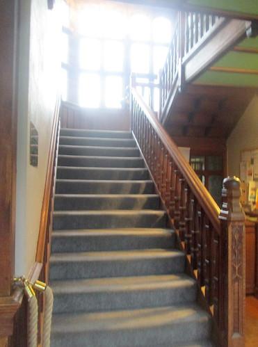 Gladstone's Library, Hawarden,Stairwell