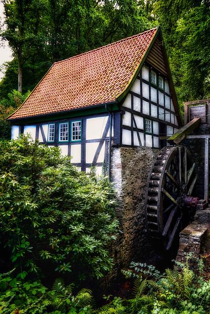Water mill, Bad Essen