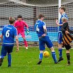 Alex Davidson gets in a shot