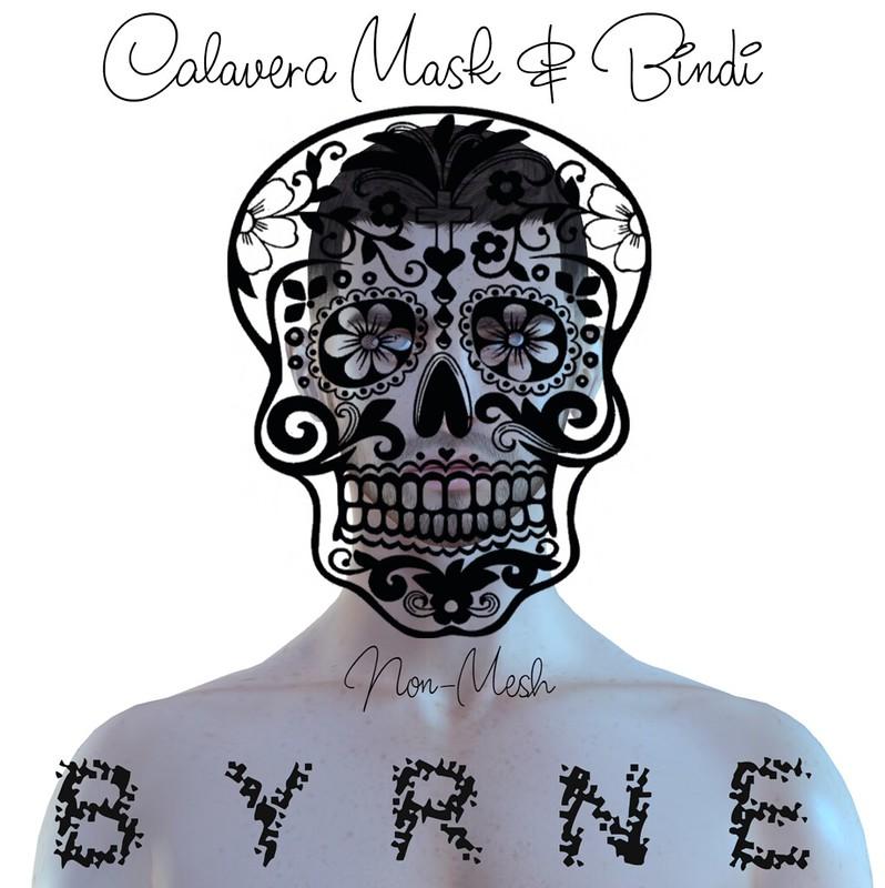 (BYRNE) CalaveraMask&BindiAD-Nov Group Gift
