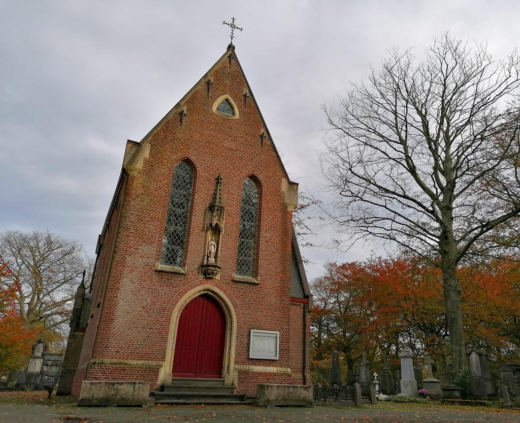 La capilla del Cementerio Central