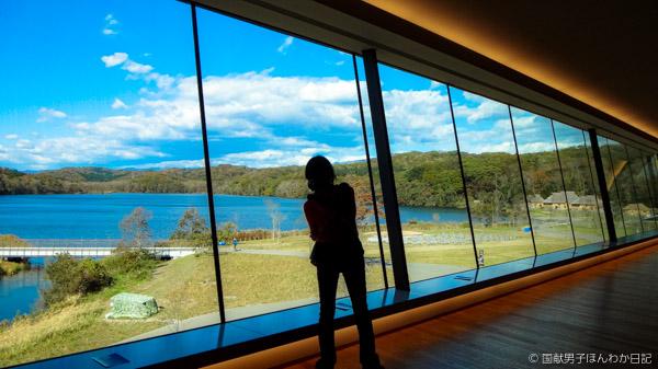 博物館から国立民族共生公園を望む