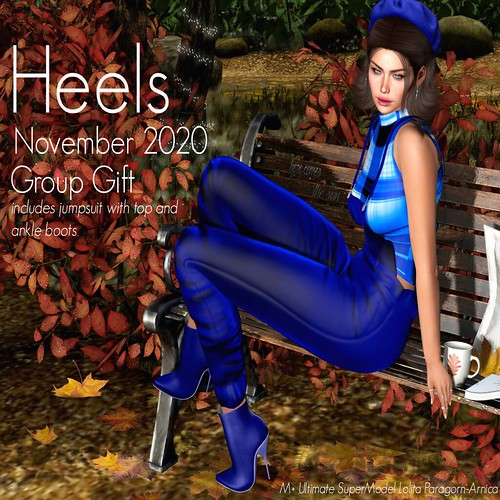 Heels November 2020 Group Gift now ready