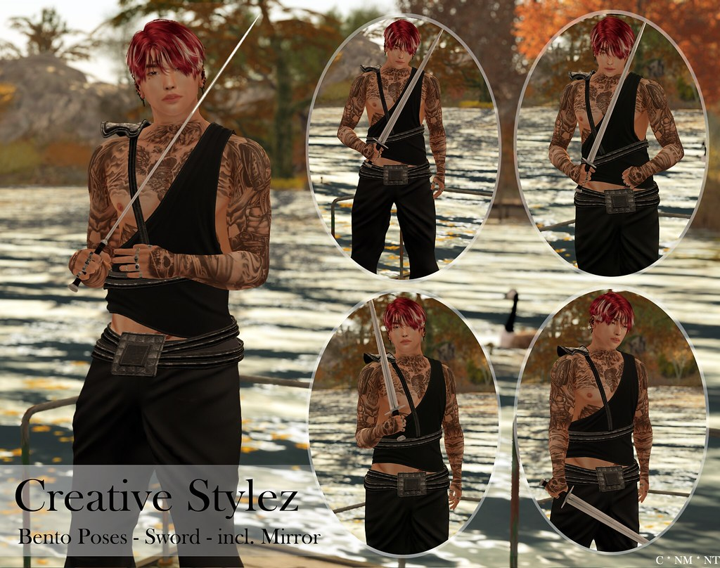 Creative Stylez – Bento Poses – Sword –