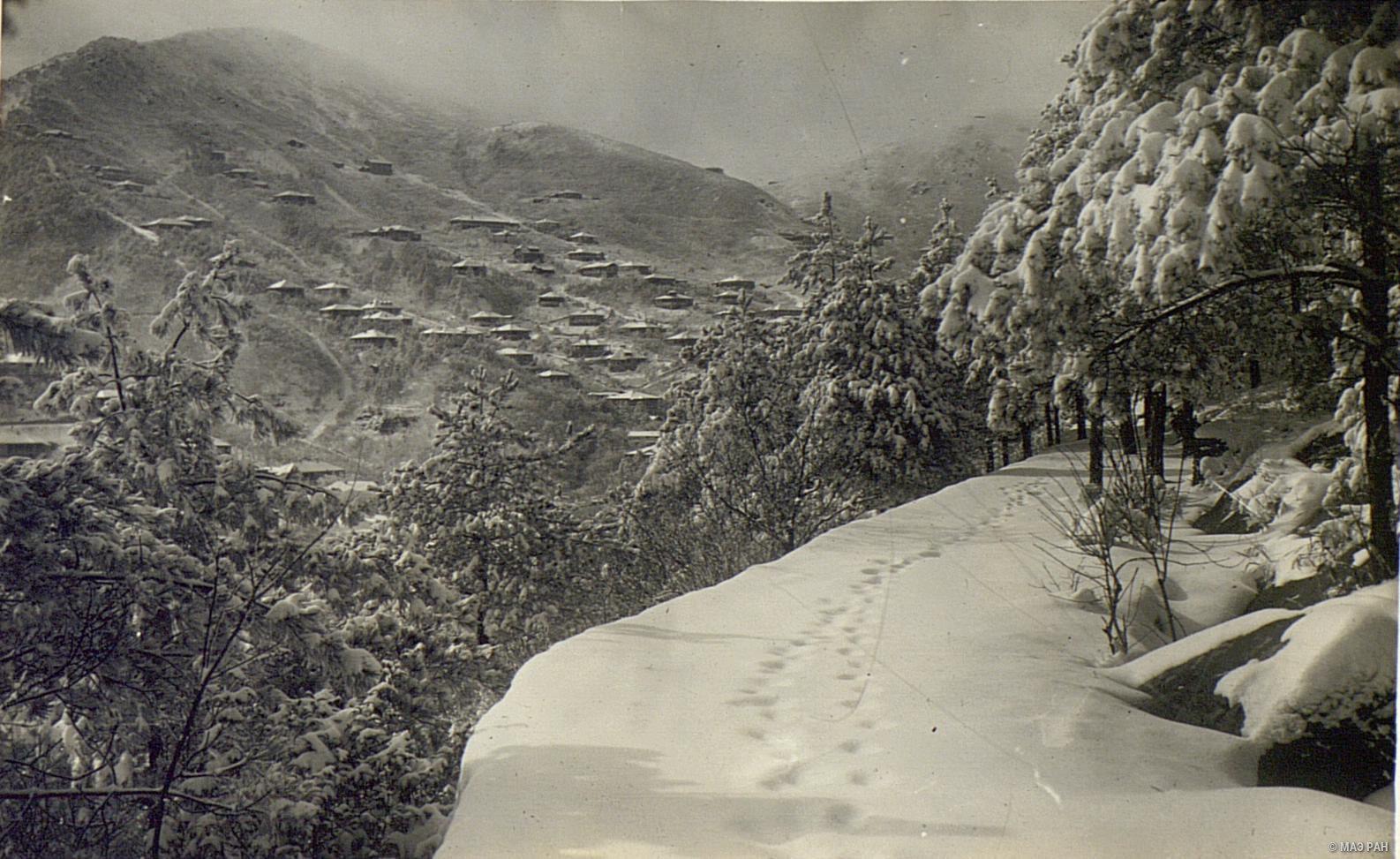 Деревня Гулин зимой (2)