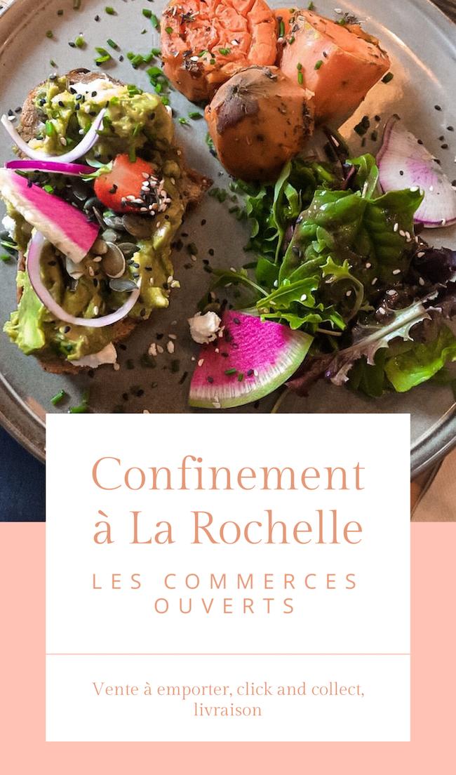 Confinement à La Rochelle : les commerces ouverts (vente à emporter, click and collect, livraison)