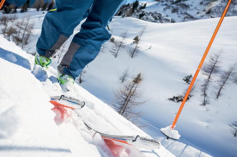 49 problémů s vybavením na skialpové túře - stoupací pásy