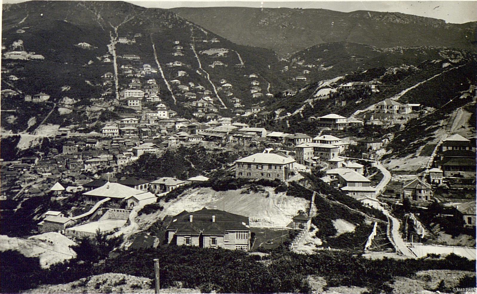 Деревня Гулин летом