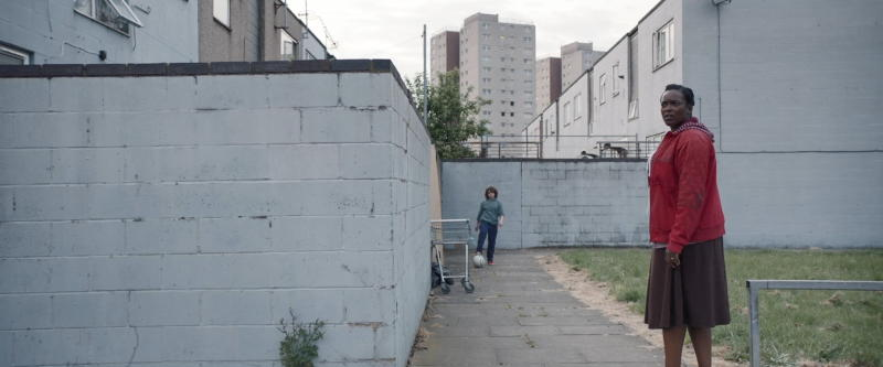 Nyagak Filming on location in Tilbury