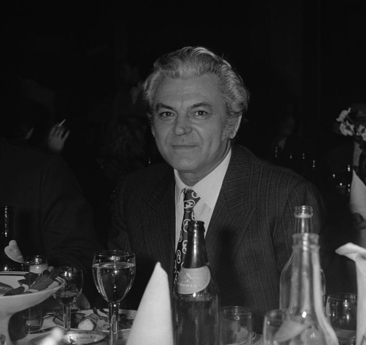 1974. Актер и режиссер Сергей Бондарчук