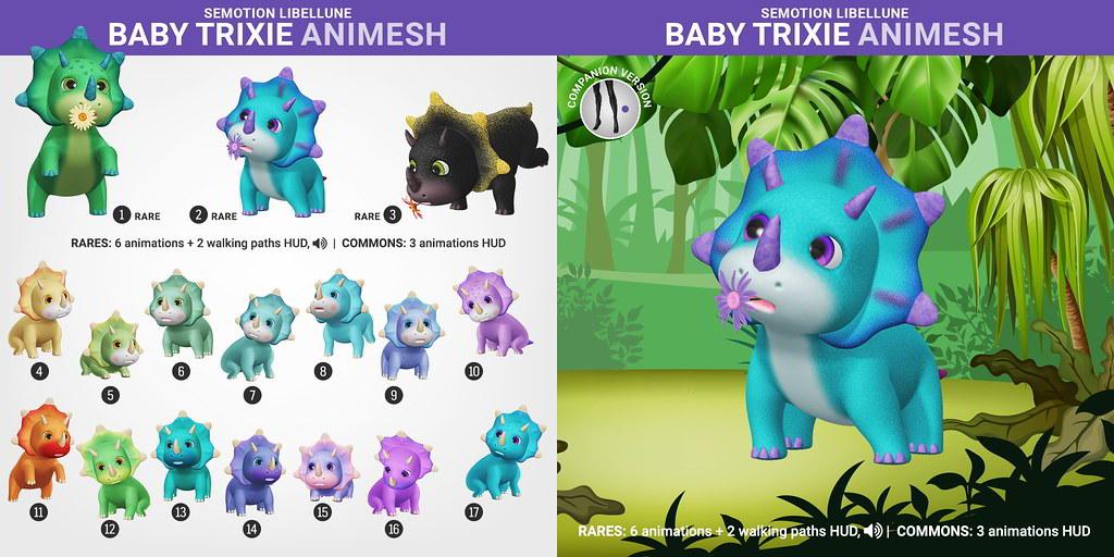 SEmotion Libellune Baby Trixie Animesh