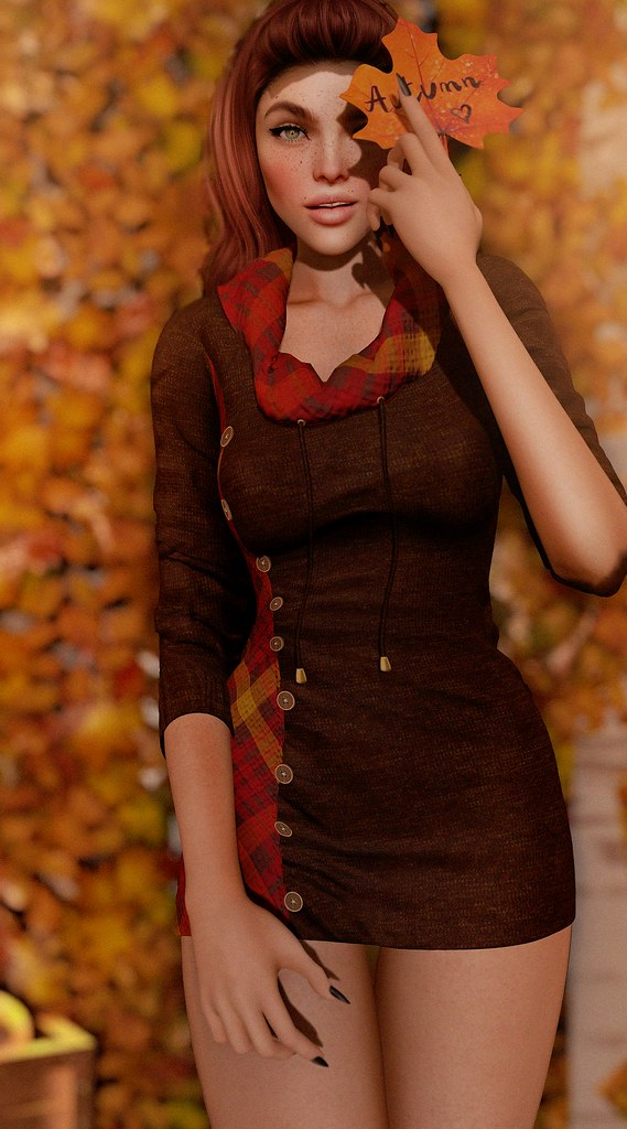 Fameshed Opens Today and Aleutia has a Beautiful Fall Sweater Dress For You!