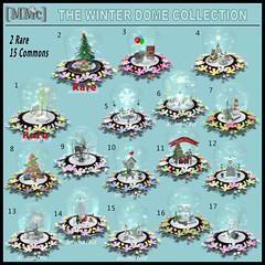 [MMc] The Winter Dome Collection  Gacha KEY