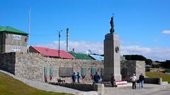 FALKLAND ISLANDS - 76 The 1982 Liberation Memorial