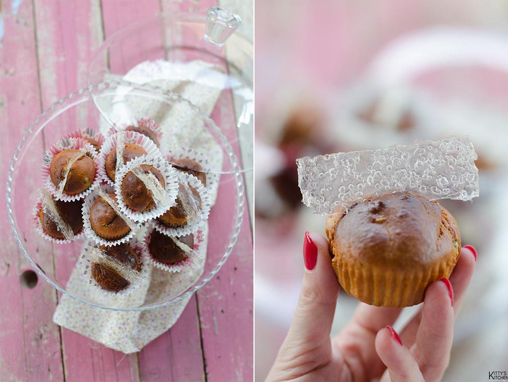 muffin salati con cracker di crystal bread
