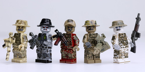 Zombie Spec Ops | by Brick Police