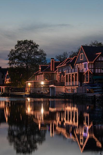 Philadelphia: Boat House Row