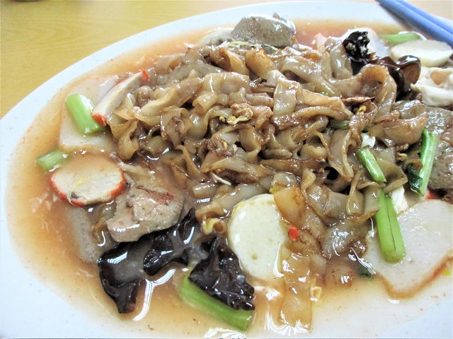 Ah Kau Cafe tomato kway teow special 1