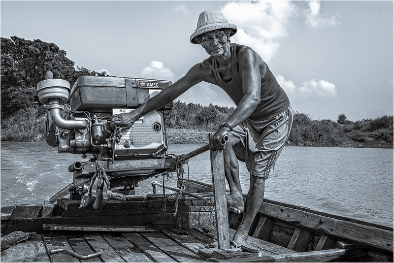 The Helmsman by Ron Williams