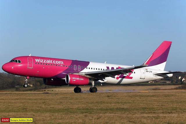 HA-LYH | Airbus A320-232 | Wizz Air