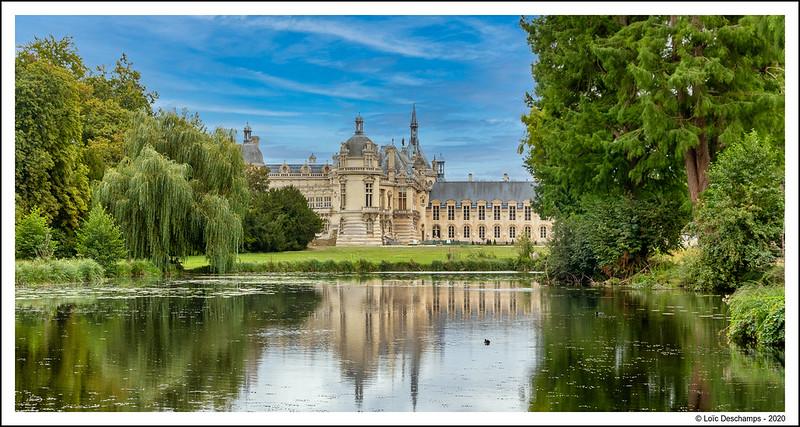 Dans la parc du Chateau de Chantilly