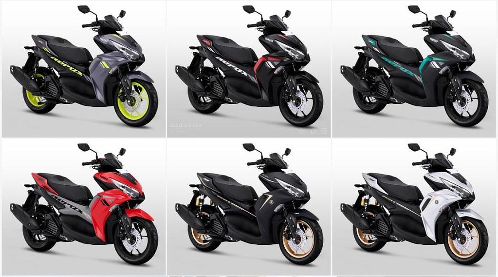 All New Yamaha Aerox 155 Connected