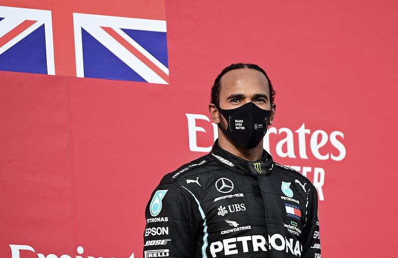 Lewis Hamilton(達志影像。)