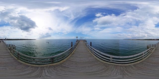 Graal-Müritz - Seebrücke 360 Grad