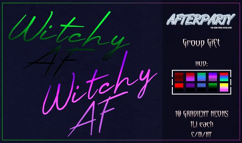 Afterparty - Witchy AF Neon [Group Gift]