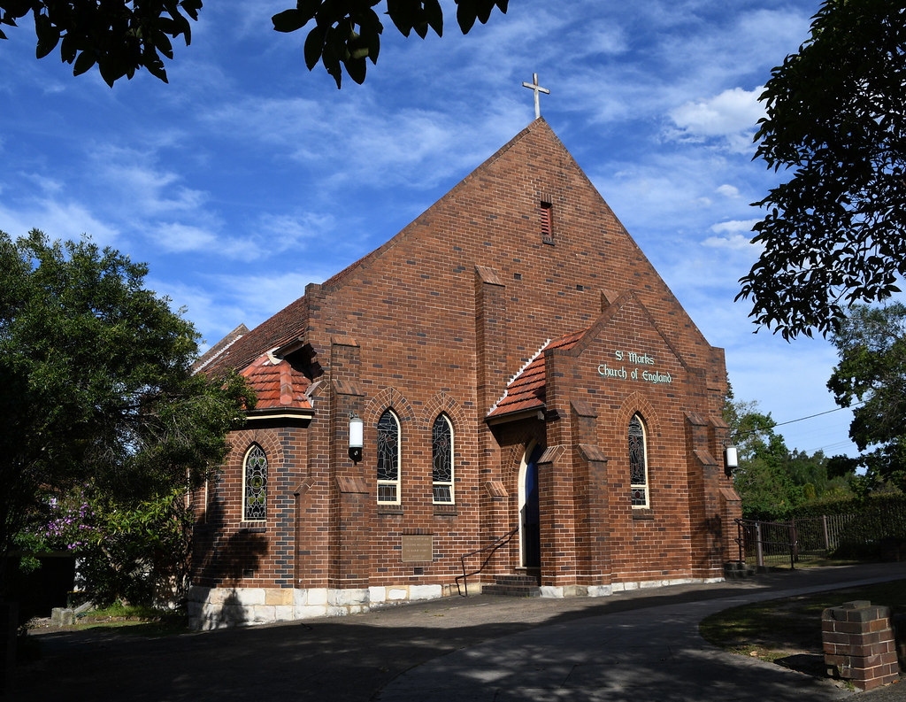 St Mark's Anglican Church, Northbridge, Sydney, NSW.