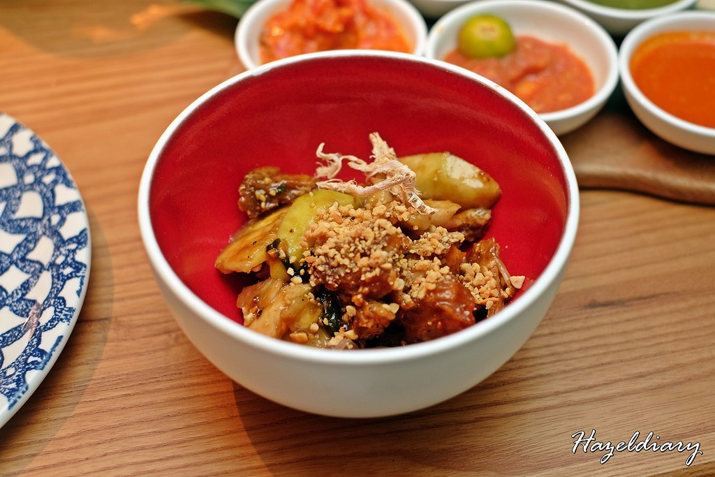 Ginger at PARKROYAL on Beach Road -Singapore Rojak