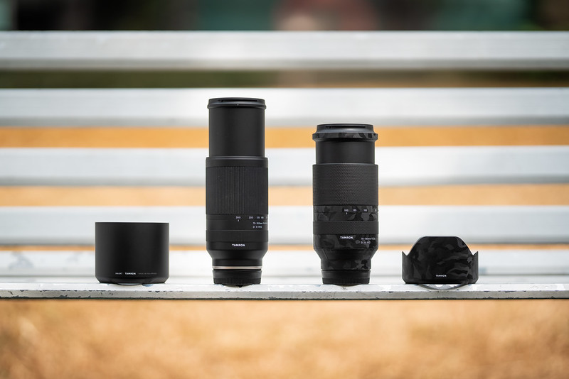 Tamron 70-300mm f/4.5-6.3 A047|Tamron 70-180mm f/2.8 A056