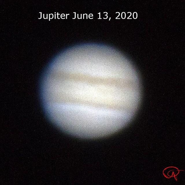 Jupiter June 13, 2020
