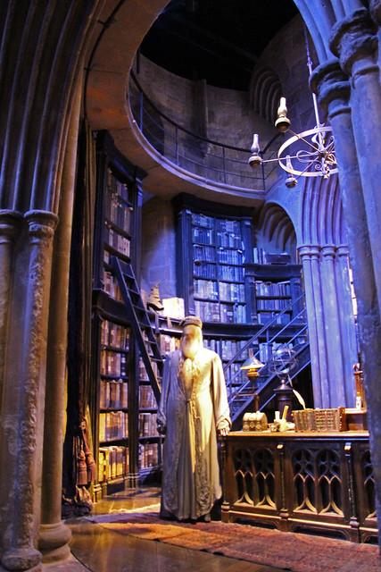 The Headmasters Office - Dumbledore's Study