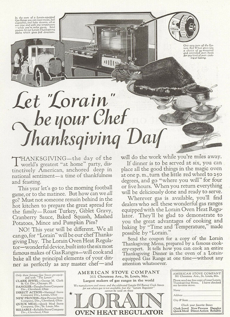 Lorain 1922 Thanksgiving