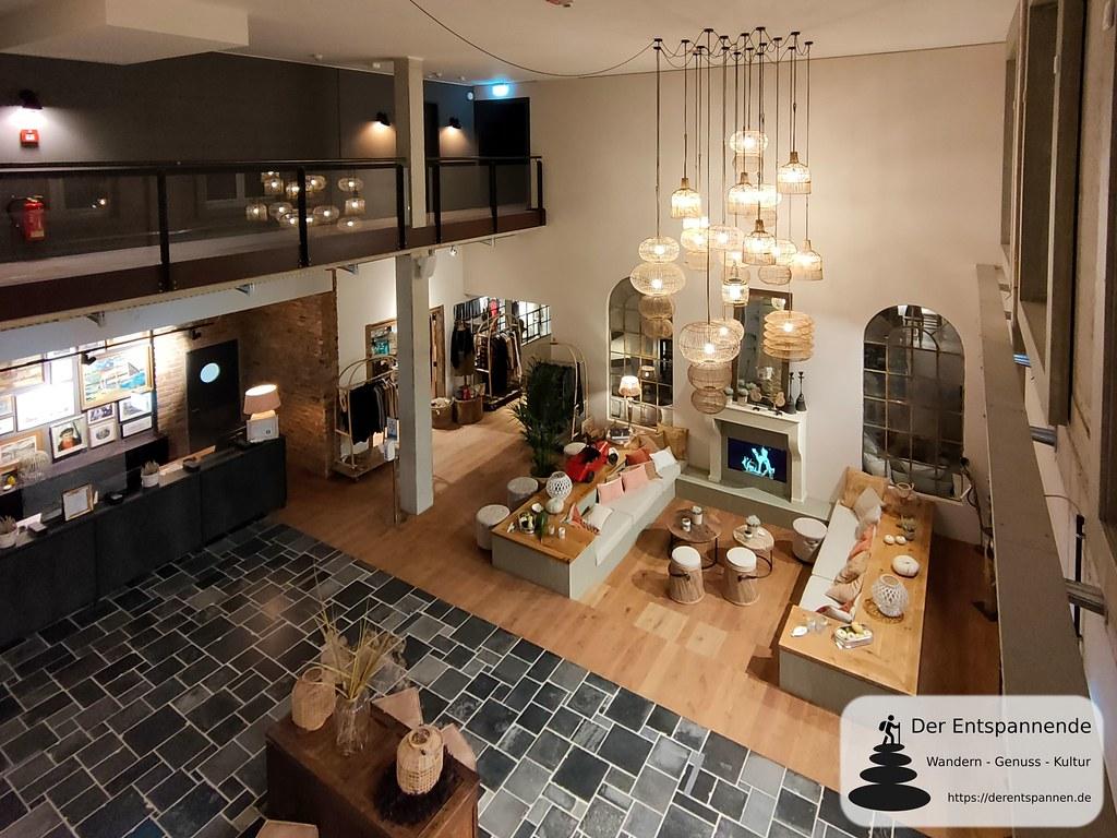 Rezeption und Lobby Hotel Papa Rhein (Bingen)