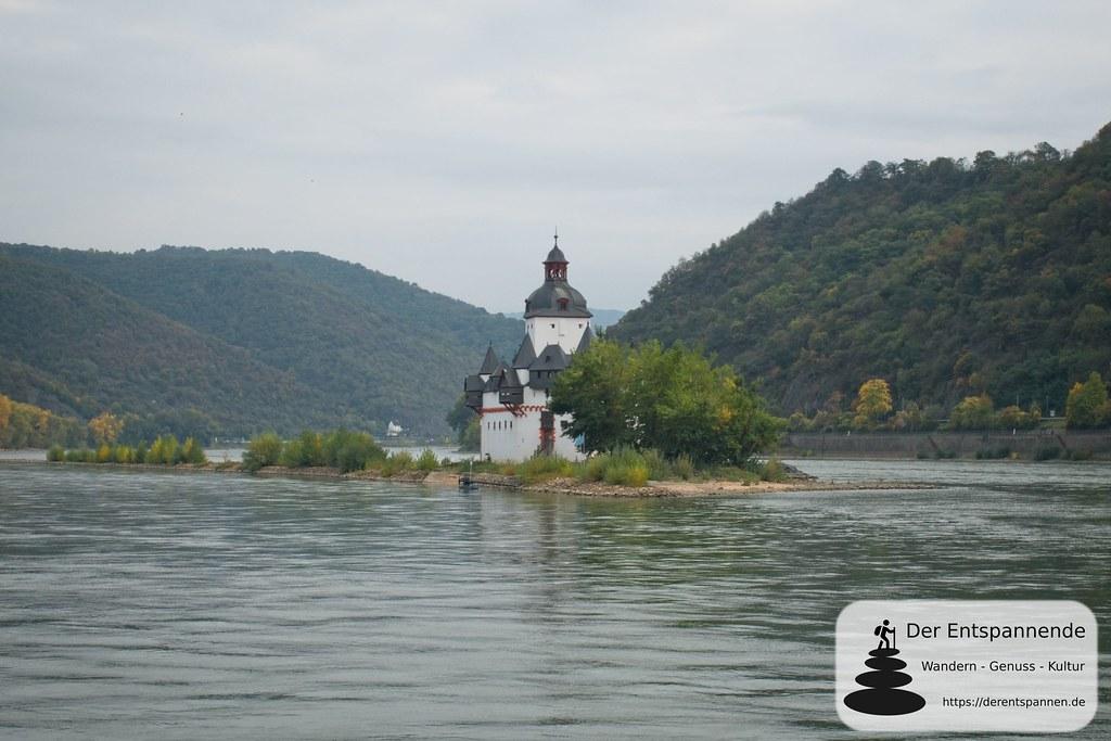 Blick auf Burg Pfalzgrafenstein (Kaub)