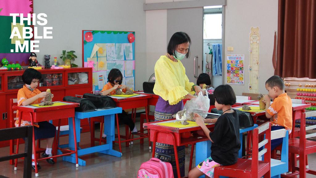 บรรยากาศการเรียนการสอนในห้องเรียน