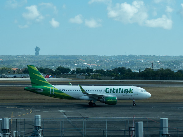 Garuda Indonesia - Citilink PK-CQS - Bali Ngurah Rai International Airport
