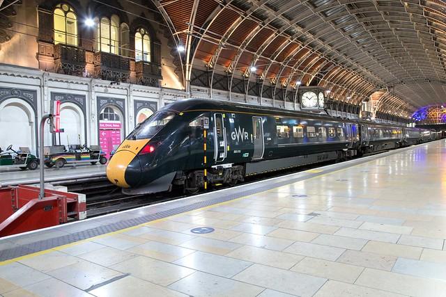 GWR 800 016 London Paddington