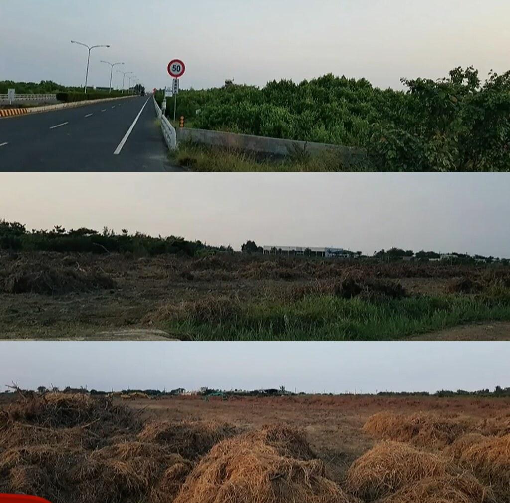 台南七股保安林地開發為光電廠