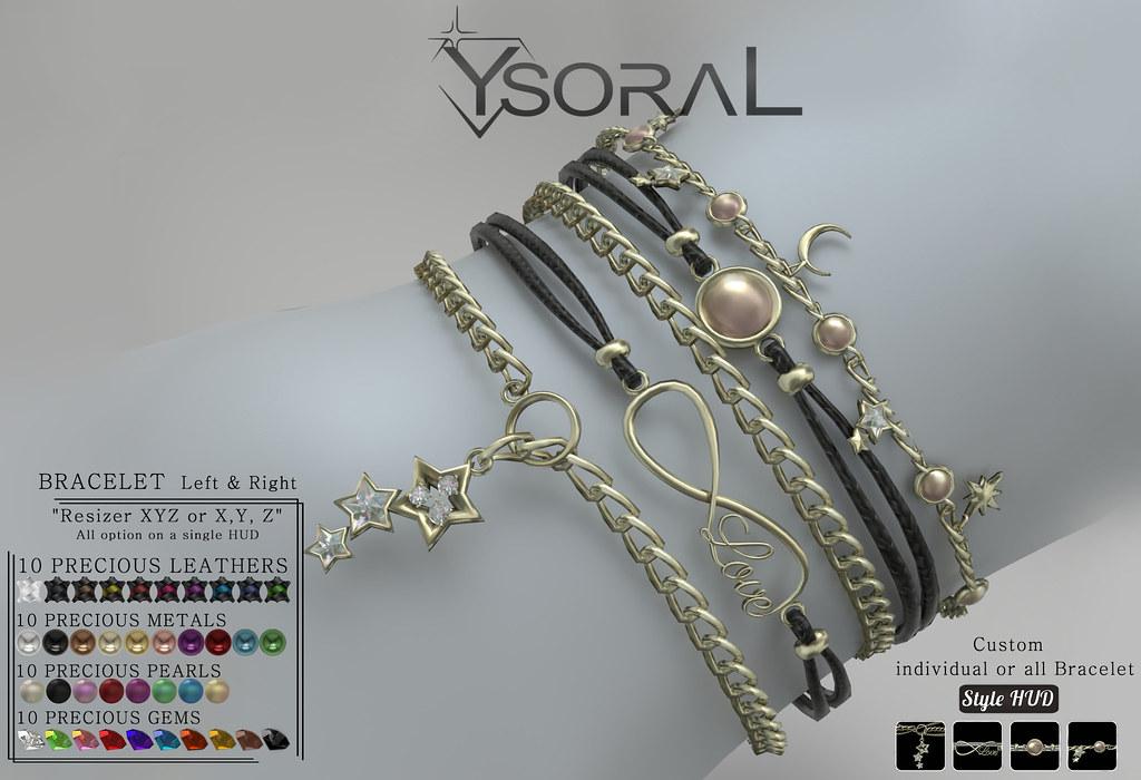 ~~ Ysoral ~~ .: Luxe Set 4 Bracelet Lucille :.