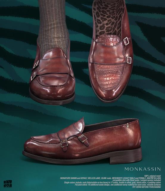 [Deadwool] Monkassin (+ Oxford shoes Legacy update)