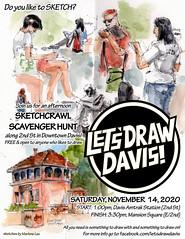 Let's Draw Davis November 2020