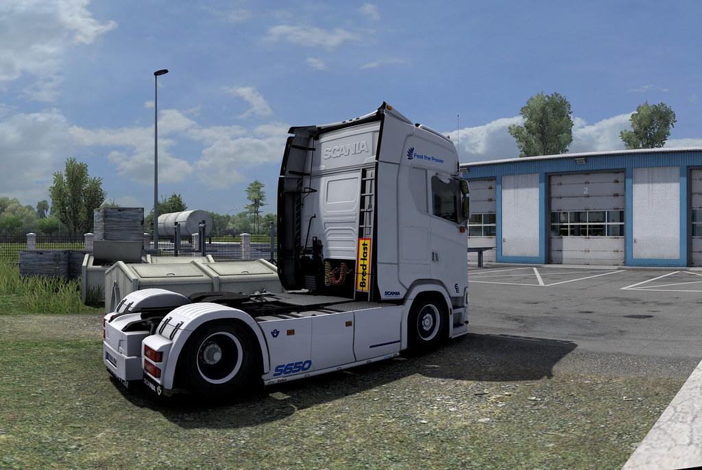 Scania S650 V8
