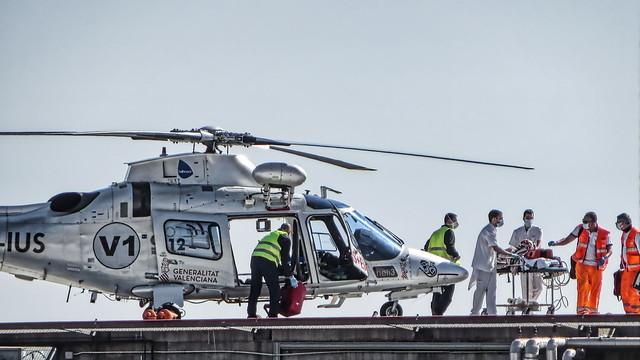 Agusta A109E Power EC-IUS