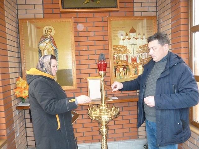 В Ильинском приходе почти память жертв политических репрессий 30.10.2020