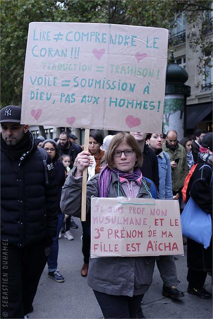 Marche contre l'Islamophobie à Paris IMG191110_005_©2019 | Fichier Flickr 1000x667Px Fichier d'impression 5610x3740Px-300dpi