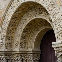 Ciudad de Zamora. Puerta Meridional de la Iglesia de San Juan de Puerta Nueva