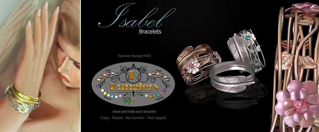 KUNGLERS – Isabel bracelets vendor